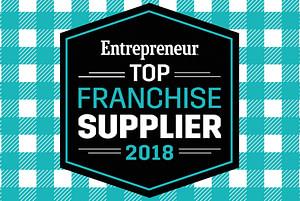 Entrepreneur Top Franchise Supplier 2018