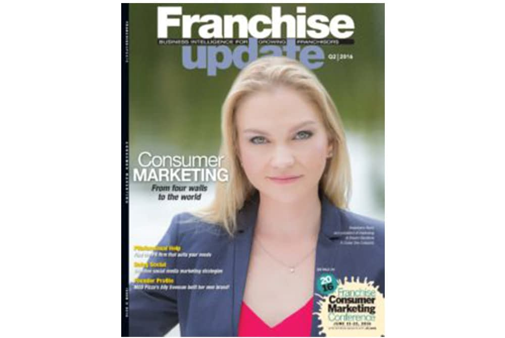 Franchise Update Magazine cover