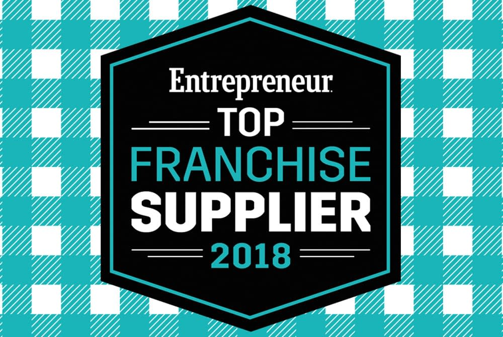 Entrepreneur Top Franchise Supplier 2018