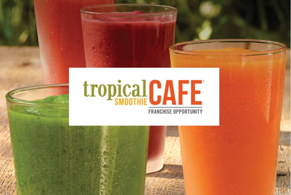 Tropical Smoothie Cafe smoothies