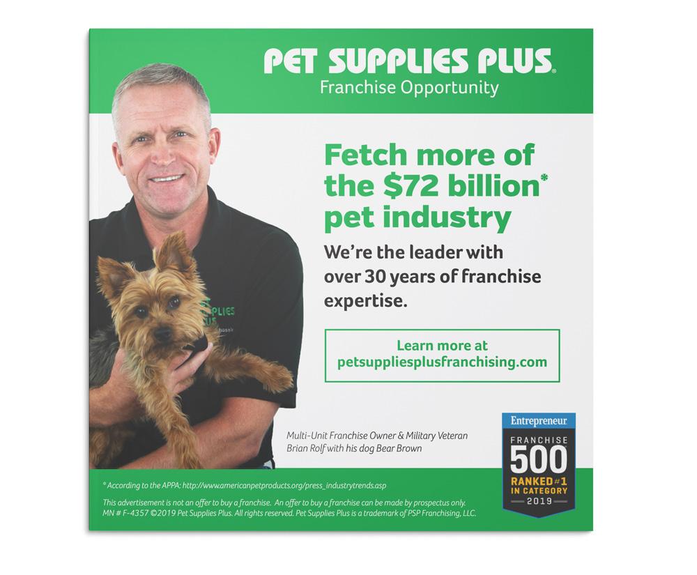 Pet Supplies Plus magazine ad